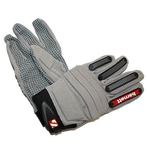 barnett FLG-02 gants de football américain de linemen fit, taille L, gris