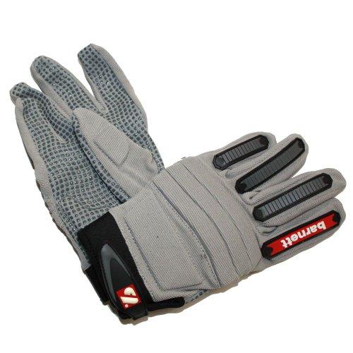FLG-02 American Football Handschuhe silber (M)