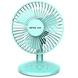 OPOLAR First Oscillating Mini Fan, AA Battery (not included) Operated or USB Powered