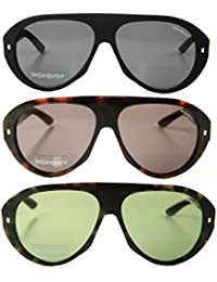 Yves Saint Laurent genuine unisex Sunglasses Women Men eyewear + case YSL 2333/S 807, S YXQ, S YXR