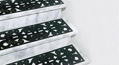 UPP Products Stufenmatten Relief Gummi 2 Stück / Treppenmatten / Fußmatte
