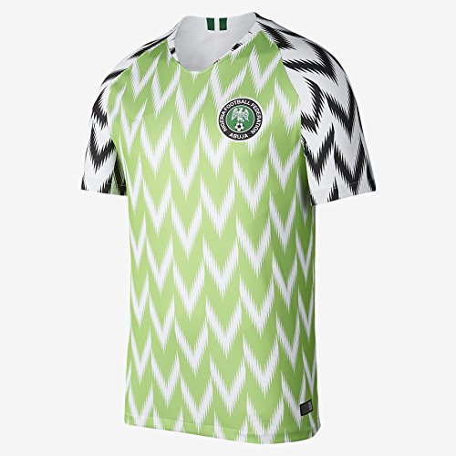 90a851b66 Apparel online Nigeria National Football Shirt 2018 Soccer Home Jersey  Short Sleeves (L)