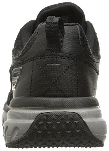 Skechers Geo-Trek Synthétique Chaussure de Randonnée noir/gris