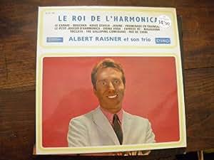 Albert Raisner et son trio - le roi de l'harmonica disque musidisc 30 CV 1160