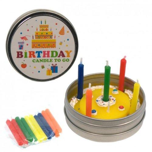 Donkey Products Kerze to go Birthday