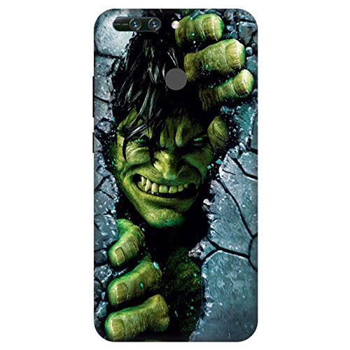 new concept 82c72 579fa Wizzart Honor 8 Pro Back Cover Case In Print Designer Cases And Covers Hulk  Print Design