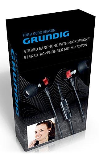 Grundig 871125286357 Stereo Kopfhörer mit Mikrofon schwarz