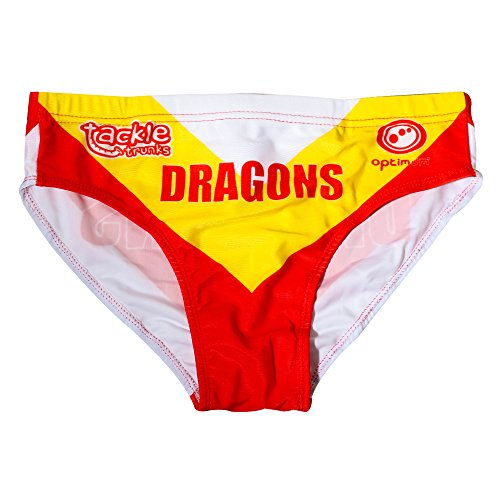 Optimum Optimale Men's Tackle Slip Unterwäsche Dragons RL