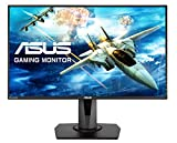 ASUS VG278Q 27 Inch eSport FHD Gaming Monitor (1980 x 1080, 1 ms, Upto 144 Hz, DP, HDMI, DVI, FreeSync, Low Blue Light, Flicker Free, TUV Certified) - Black