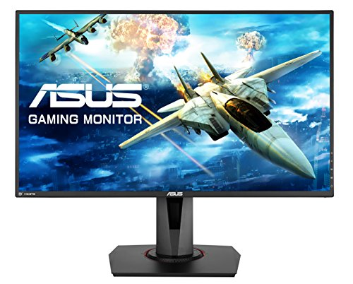 Asus VG278Q 68,65 cm (27 Zoll) Monitor (HDMI, DisplayPort, Full HD, FreeSync, G-Sync Compatible, 1ms Reaktionszeit) - 4-port-dvi-digital-video