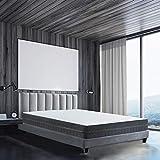 BedStory Matelas 90x190 en Mousse, 18 cm Épaisseur, Matelas 7 Zones Ergonomique avec...