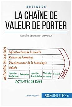La chaîne de valeur de Porter: Identifier la création de valeur (Gestion & Marketing t. 12) par [Robben, Xavier, 50Minutes.fr,]