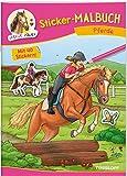 Sticker-Malbuch Pferde: 40 farbige Sticker zum Gestalten von Bildern, Brotdosen & Co. (Malbücher und -blöcke)
