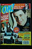 OK ! âge tendre 724 NOVEMBRE 1989 COVER PATRICK BRUEL POSTER DAVID HALLYDAY SONIA TEARS FOR FEARS WET WET WET MELODY