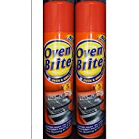 2 x Spray nettoyant de four Brite – au four et grill Cleaner – 300 ml