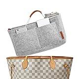 Foregoer Felt Handbag Bag Organiser Insert for Tote with Handles Organizer
