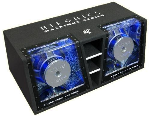 Hifonics MXT12DUAL Dual-bandpass-system