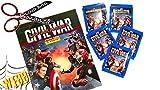 Panini Marvel Captain America Bürgerkrieg Starter Pack–Album und 31Aufkleber