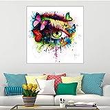 baodanla (ohne Rahmen) Moderne malerei Kunst aquarell Augen Schmetterling Hause wanddekoration...