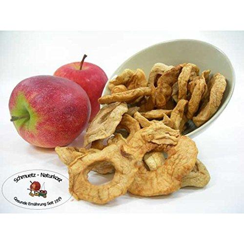 Apfelringe getrocknet, ungezuckert und ungeschwefelt 1000g von Schmütz-Naturkost, Trockenfrüchte