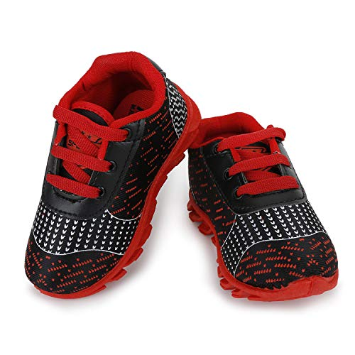 NEOBABY Casual Multicolor Shoes for Age-Group 1.5 to 4.5 Year Kids Red