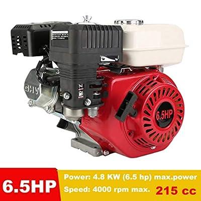 Blackpoolal 4 Takt Benzinmotor 6,5 PS Benzin Motor 215 ccm Sandmotor Kartmotor Bootsmotor 4.8 KW