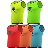 German Wear Leibchen Trainingsleibchen Markierungshemd Kinder Erwachsene Fussball Handball Hocky Rugby Basketball Volleyball Baseball Training, Farbe:Gelb, Bibs:Senior (L)