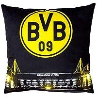 Borussia Dortmund BVB 09 BVB-Kissen mit LED (40x40cm)