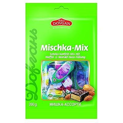 Dovgan Mischka Schoko-Konfekt-Mix, 6er Pack (6 x 200 g)