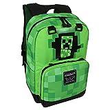 Minecraft Creeper zaino disegno 42x30x18cm verde