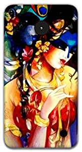 The Racoon Lean Radha Krishna hard plastic printed back case / cover for Nokia Lumia 1320