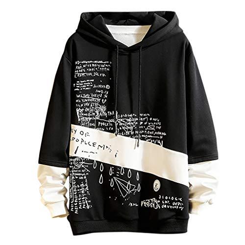 Zolimx Herren Kapuzenpullover Zip Hoodies Long Sleeve Sweatshirt Hippie Hoodie Herren Damen Jungen Mädchen