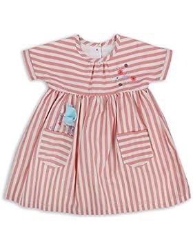 The Essential One - Baby Kinder Mädchen Kleid - Rosa/WeiB - EOT306