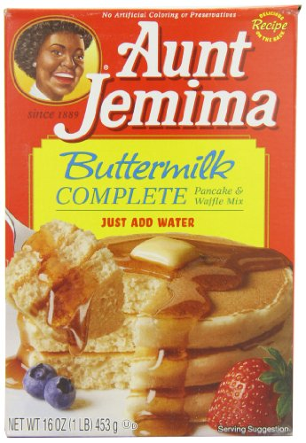 Aunt Jemima Buttermilk Complete Pancake and Waffle Mix 453 g (Pack of 2) Test