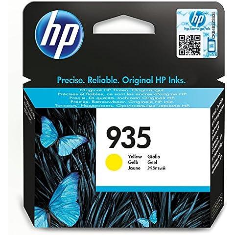 HP 935 - Cartucho de tinta para impresoras (amarillo, estándar, 400 páginas)