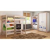 Childrens Beds Home Camas Altas para niños Niños Juniors 140x70, 160x80, 180x80, 180x90