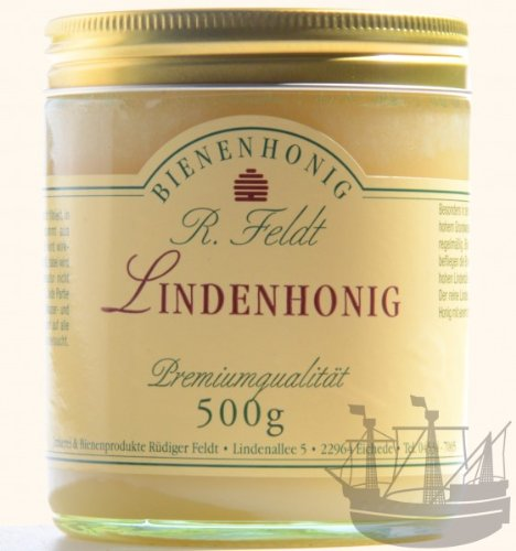 Linden Honig, kräftig-frisch sommerlich, 500g