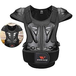 Erwachsene Motocross Schutzweste Brustrüstung Reiten Ski Skateboard Skating Schutzausrüstung Ausrüstung mit Reflektor…