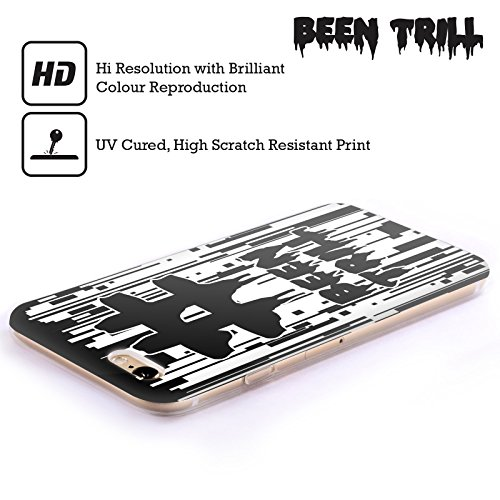 Official Been Trill Japanese Mask Glitch Soft Gel Case for Apple iPhone X Pixel Drip