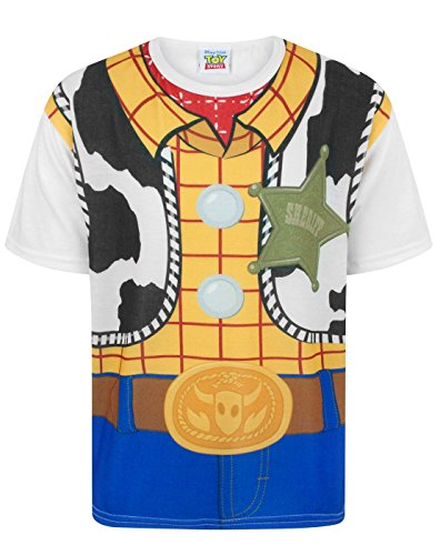 Toy Story Disney Woody Costume Boy's T-Shirt (7-8 years)