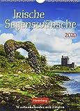 Irische Segenswünsche Wochenkalender. Wandkalender 2020. Wochenkalendarium. Spiralbindung. Format 16,5 x 23 cm