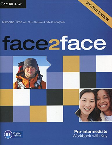 face2face Pre-intermediate Workbook with Key Second Edition