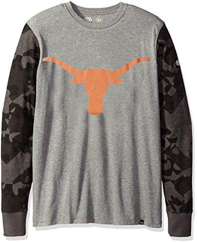 Unbekannt NCAA Powder Long Sleeve Tee, Herren, Texas