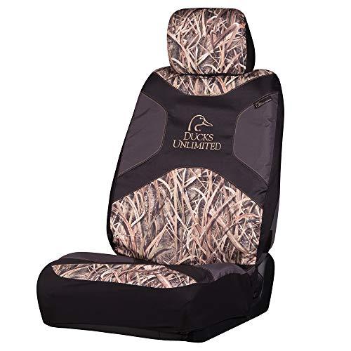 Enten-Unlimited Camo Sitzbezug, niedrige Rückenlehne, Schattengrasklingen, Einzelbett, Schattengrasklingen, 1 Stück Unisex-ente