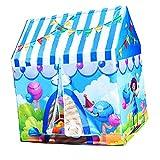 MagiDeal Kinderzimmer Spielzelt Kinderzelt Zelt Spielzeug für Kinder Drinnen & Draußen Spiel - Zirkustruppe