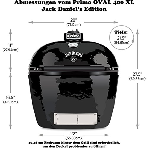 Primo Keramikgrill Oval 400 XL - 3