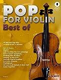 Pop for Violin - Best of: 16 All-Time Pop-Hits. 1-2 Violinen. Ausgabe mit Online-Audiodatei. - Michael Zlanabitnig