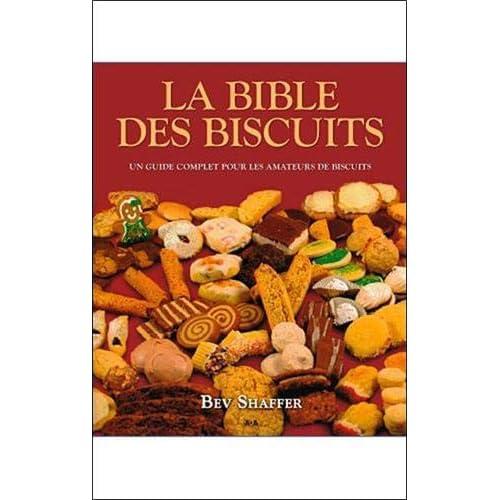 La bible des biscuits