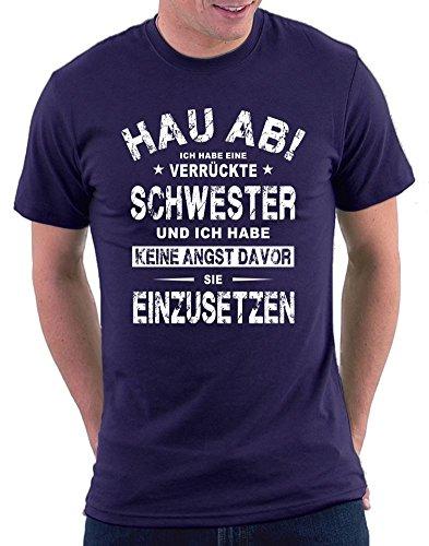 Hau Ab ! T-shirt Navy