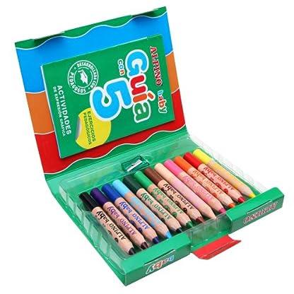 51RhsdD08ML. SS416  - Alpino 8413240476511 - Estuche 12 lápices colores